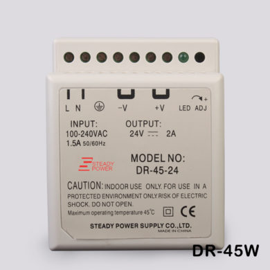 45W 24V 2A Din Rail Single Output Switching power supply